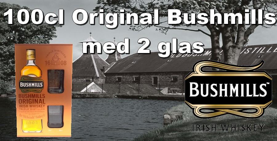 Bushmills med Glas
